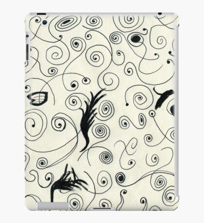 Squiggle Pen & Ink iPad Case/Skin