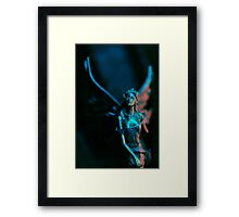Blue fairy Framed Print
