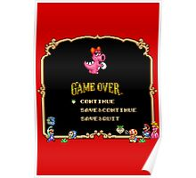 Game Over / Super Mario Bros. 2 Poster