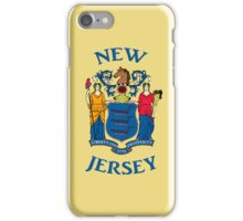 Smartphone Case - State Flag of New Jersey - Horizontal II iPhone Case/Skin