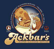 Ackbar's Diaper Cleaning by Matt Sinor