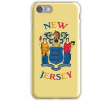 Smartphone Case - State Flag of New Jersey - Horizontal III iPhone Case/Skin