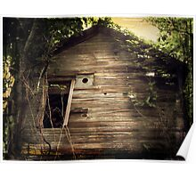 Vintage Barn No. 3 rustic rural decay photography Poster