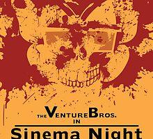 Sinema night Venture Bros Movie by DanielCepeda