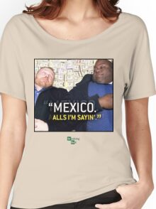 Mexico alls i'm sayn - Saul Guards Women's Relaxed Fit T-Shirt