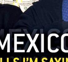 Mexico alls i'm sayn - Saul Guards Sticker