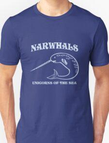 Narwhals. Unicorns of the Sea Unisex T-Shirt