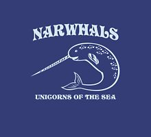 Narwhals. Unicorns of the Sea Womens Fitted T-Shirt