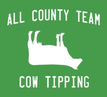 All County Cow Tipping Kids Clothes