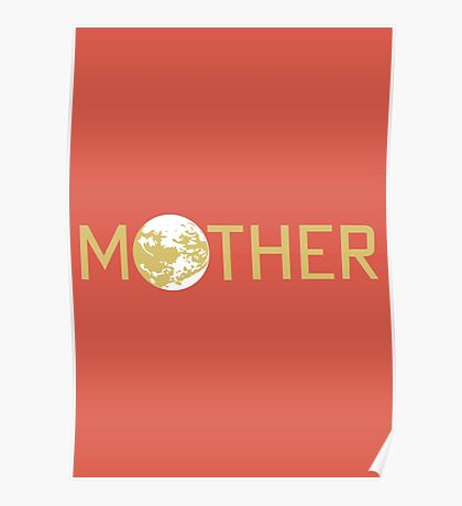 Mother Logo Poster
