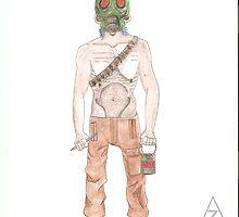 Art Soldier  by zedwardian