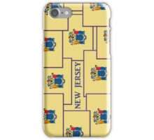 Smartphone Case - State Flag of New Jersey - Vertical IV iPhone Case/Skin