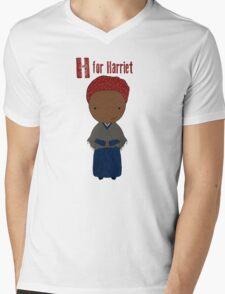 H is for Harriet Mens V-Neck T-Shirt