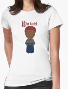 H is for Harriet Womens Fitted T-Shirt