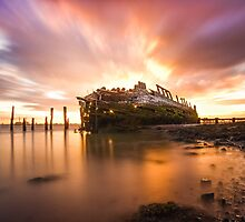 Wreck of the Hans Egede by Ian Hufton