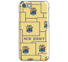 Smartphone Case - State Flag of New Jersey - Horizontal IV iPhone Case/Skin