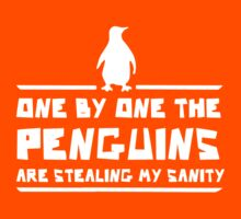 One by One Penguins are Stealing my Sanity Kids Clothes