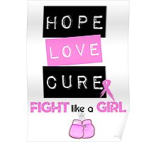 Hope Love Cure Poster