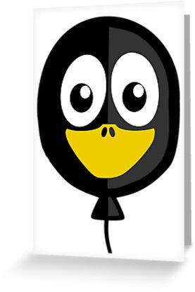 Balloon Penguin by kwg2200
