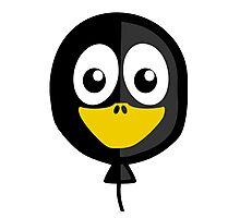 Balloon Penguin Photographic Print