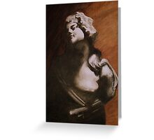 Neoclassical study  Greeting Card