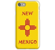 Smartphone Case - State Flag of New Mexico - Horizontal iPhone Case/Skin