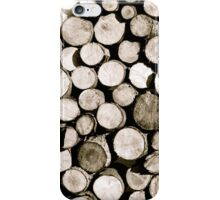 Wood is Good iPhone Case/Skin