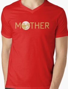 Mother Logo Mens V-Neck T-Shirt