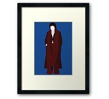 The Fourth Doctor - Doctor Who - Tom Baker (Season 18) Framed Print