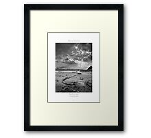 Tied to earth, reaching out to heavens... Framed Print