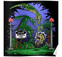 Jurassic Pounce! (Light Shirts) Poster