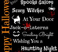 Halloween Poem by Sarah Campbell