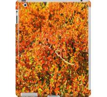 Intense orange. iPad Case/Skin
