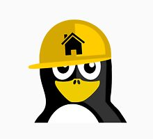 Construction Worker Penguin T-Shirt