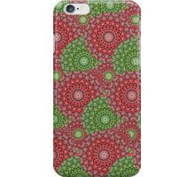 Circular Seasons - Pink & Green iPhone Case/Skin