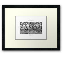 Borth-Y-Gest, Porthmadog, Wales Framed Print
