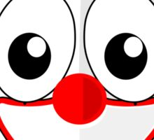 Clown Penguin Sticker