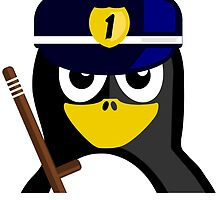 Policeman Penguin by kwg2200