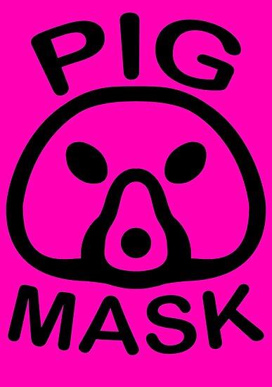 Pigmask (Black) by Studio Momo╰༼ ಠ益ಠ ༽