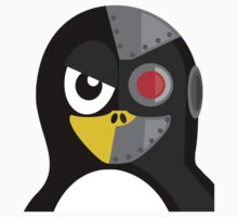 Cyborg Penguin T-Shirt
