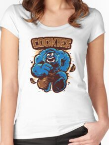 Cookies! Women's Fitted Scoop T-Shirt