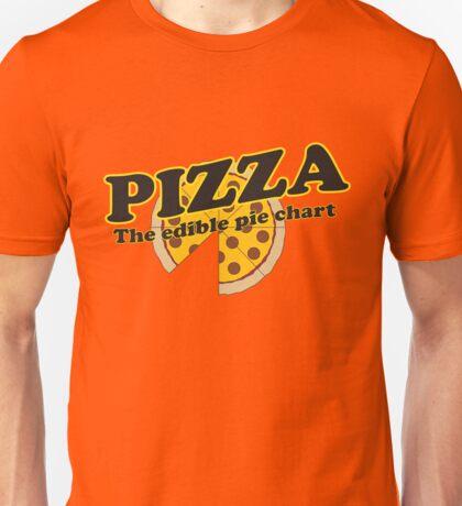 Pizza. The Edible Pie Chart Unisex T-Shirt
