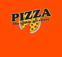 Pizza. The Edible Pie Chart Unisex T-Shirt