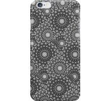 Circular Seasons - Black & White iPhone Case/Skin