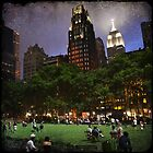 Bryant Park - NYC by Robert Baker