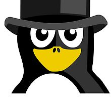 Top Hat Penguin by kwg2200