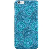 Circular Seasons - Blue iPhone Case/Skin