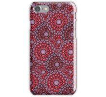 Circular Seasons - Red iPhone Case/Skin