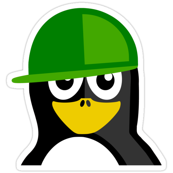 Green Hat Penguin by kwg2200