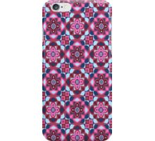 Regal Reign - Pink & Blue iPhone Case/Skin